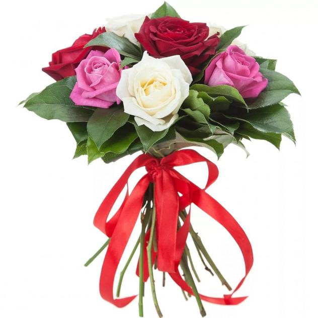 Букет из 7 роз № 2