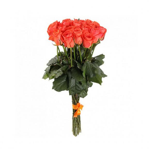 Букет из оранжевых роз (от 15 шт.)